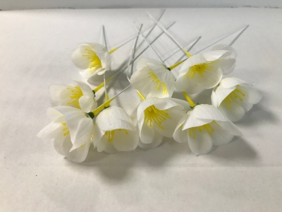 Mini Christmas Rose Picks