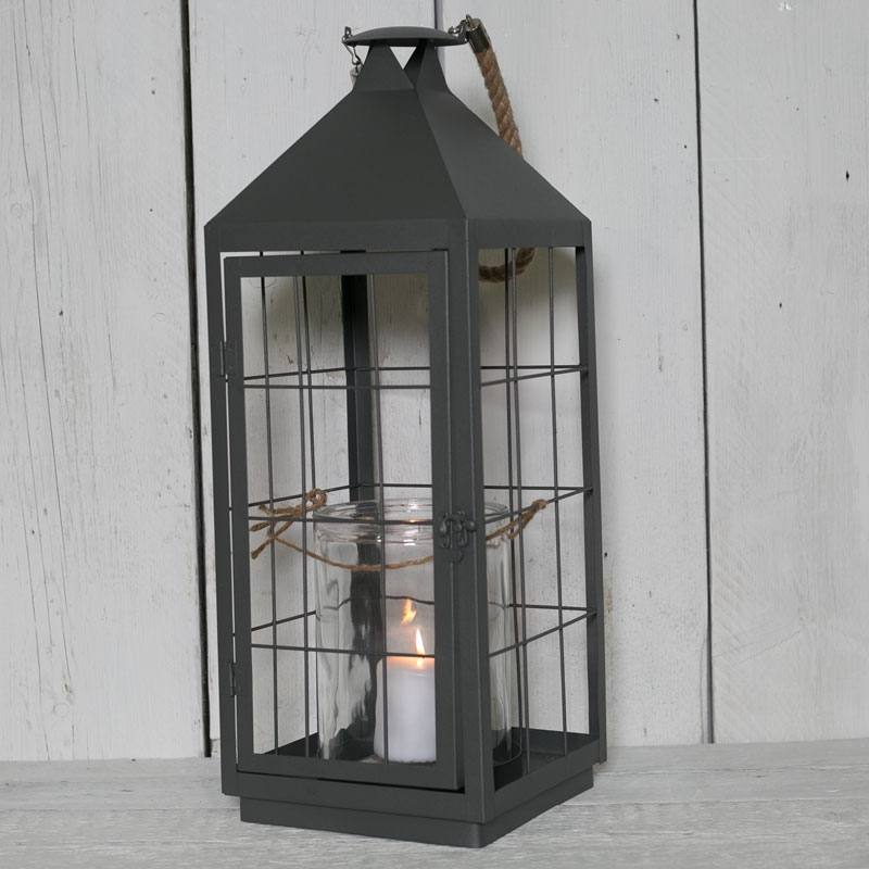 Tall Metal Lantern Buy Online Or Call 01752 845 545