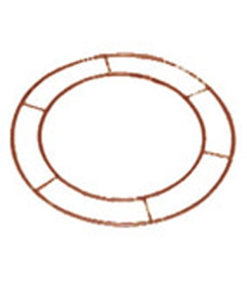 Flat wire frame wreath rings (x20)