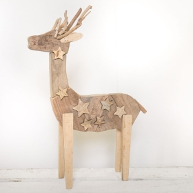 Wooden Christmas Reindeer